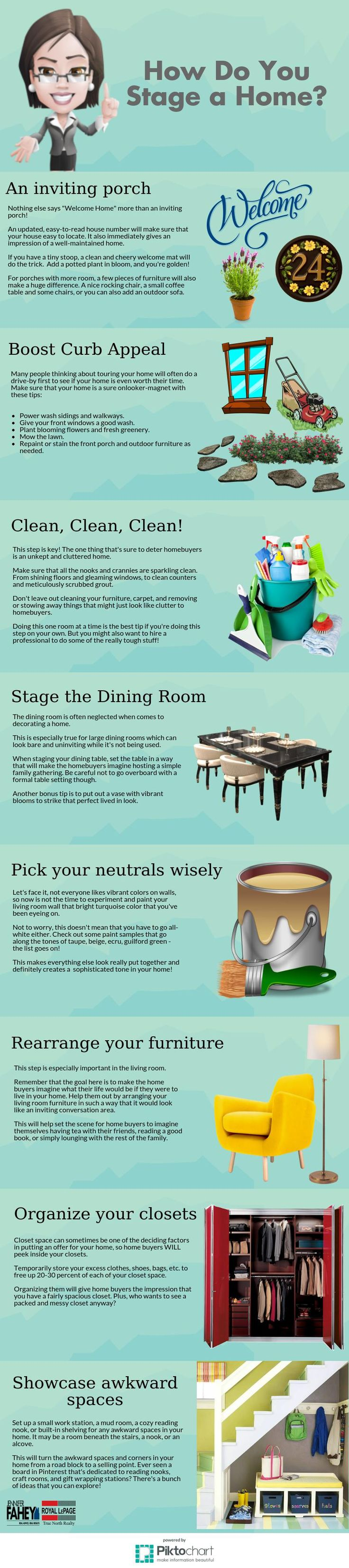 #homestaging #staging #homesforsale #homesellingtips #realestate #realestatetips #blog #infograph