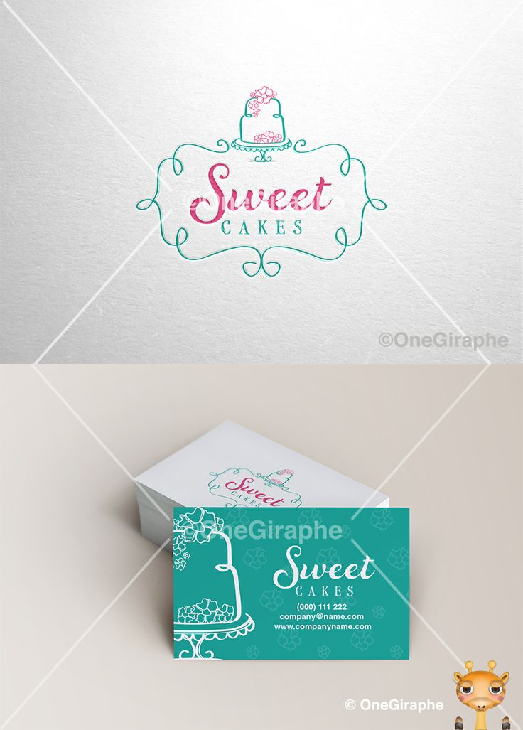 Sweet Cakes - Logo for Sale! #logo #logostore #sale #graphicdesign #designer #behance #logopond #cake #cakes #Cupcake #cake #bakery #sweet #logoforsale #logostore #brandstack #logo #logodesign #graphicdesign #logopond