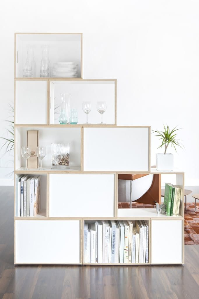 No Built-Ins, No Problem: Customizable, Modular Bookshelves that Don't Require Putting Holes in Your Walls