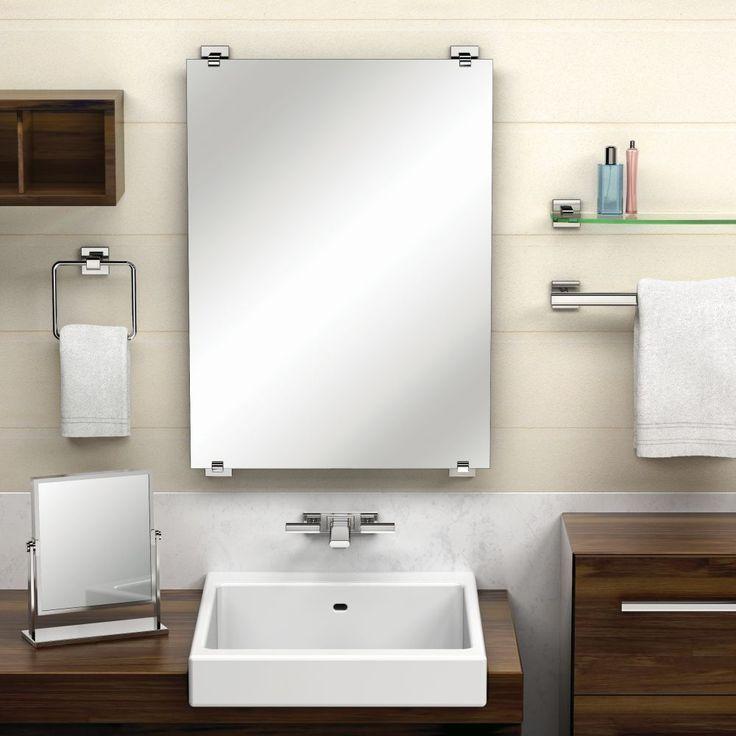 Gatco GC1596 Elevate Satin Nickel Mirrors Wall Mount Bathroom Accessories