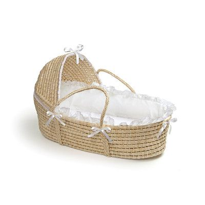 Badger Basket Hooded Moses Basket | Wayfair
