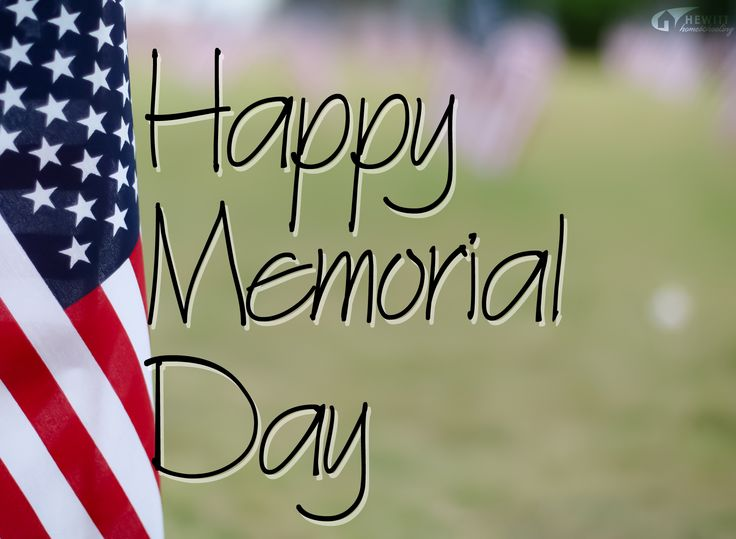 ~From all of us on the Hewitt Staff #MemorialDay
