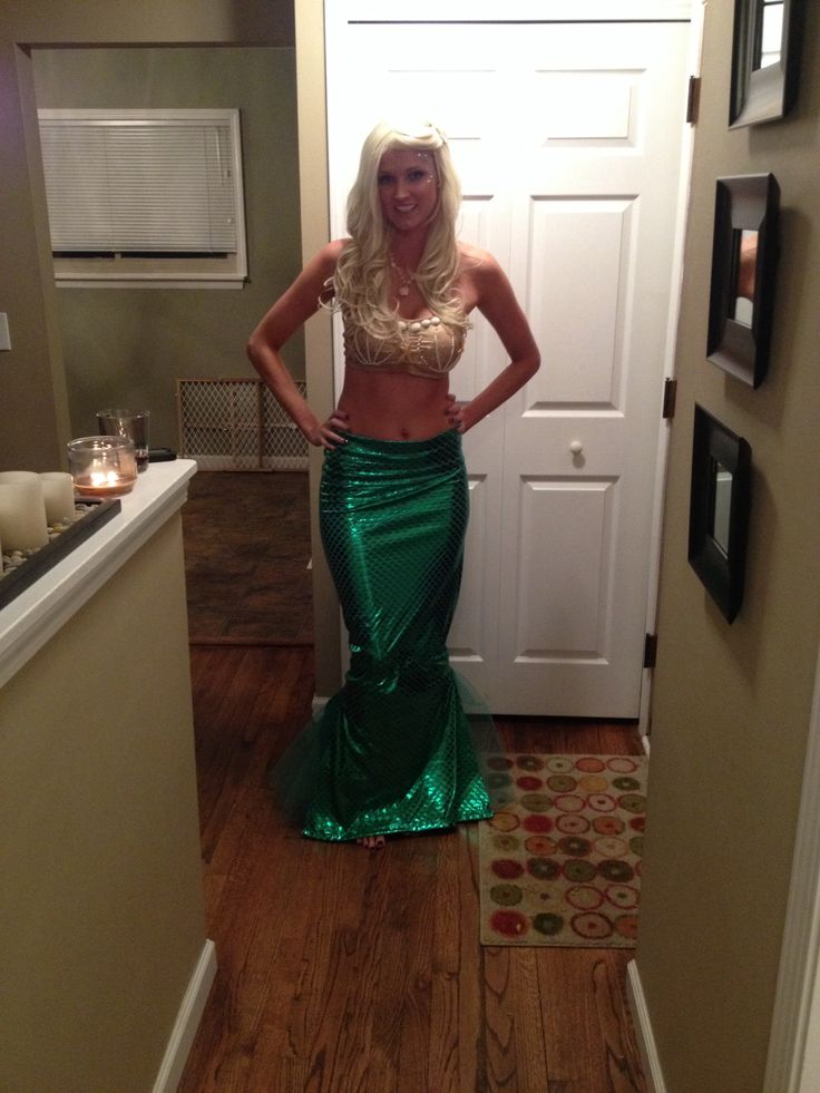 make mermaid costume