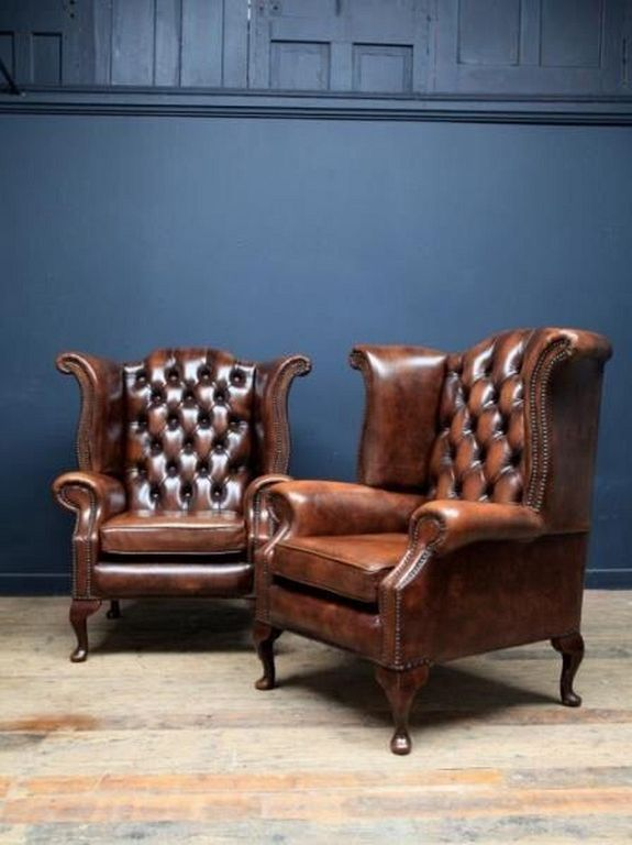 20 Best Luxury Leather Chair Designs For Classy Reading