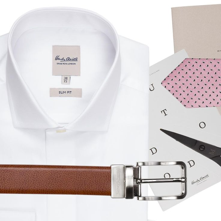 Clean and versatile, the cutaway collar works both with and without a tie #stylehardyamiesaustralia #white #shirt #men #business #