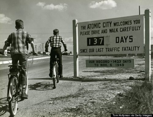 Oak Ridge, TN: The ATOMIC CITY welcomes you… (Photo: Tom Hollyman, c. 1950) In 1942, the federal government purchased 60,000 acres to create a temporary city that would house the Manhattan Project. The town, which sits about 22 miles away from...