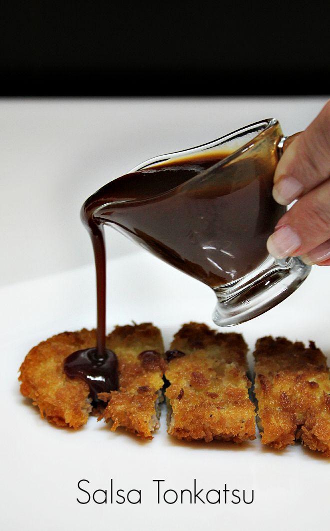Salsa Tonkatsu  Posiblemente, el primer blog exclusivo de salsas! Aquí encontrarás solamente recetas para mojar pan! Recetas sencillas y que salen a la primera!