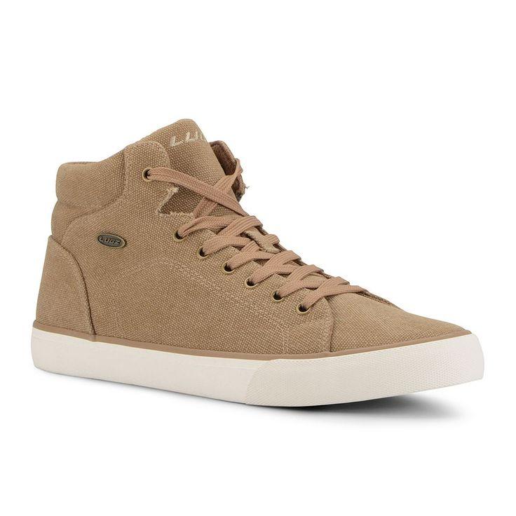 Lugz King Men's High Top Sneakers, Size: medium (11.5), Lt Brown