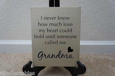 Perfect Grandma Gift Love Heart Quote Saying Canvas Picture Home Office DecorQuotes Canvas, Crafts Ideas, Grandma Gift, Gift Ideas, Canvas Pictures, Baby Things, Offices Decor, Heart Quotes, Home Offices