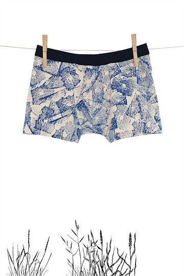 Hand Printed Limited Edition - Hand Printed Neutra Boxer - Thunderpants