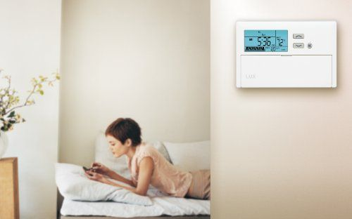 Buy Lux Products TX1500E Smart Temp Programmable Thermostat    Reduce your energy costs and protect the environment with the Lux Products TX1500E Smart Temp Programmable Thermostat. This easy-to-use device allows you to customize your home's temperature to meet your comfort level and schedule. And because it lets you lower or raise temperature settings during off-peak hours, this programmable thermostat can save energy and reduce your utility expenses.