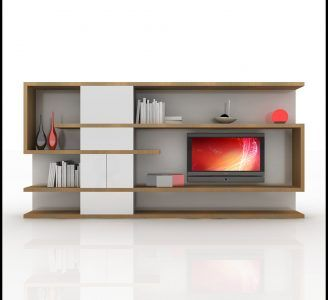 home media tv wall unit modern design
