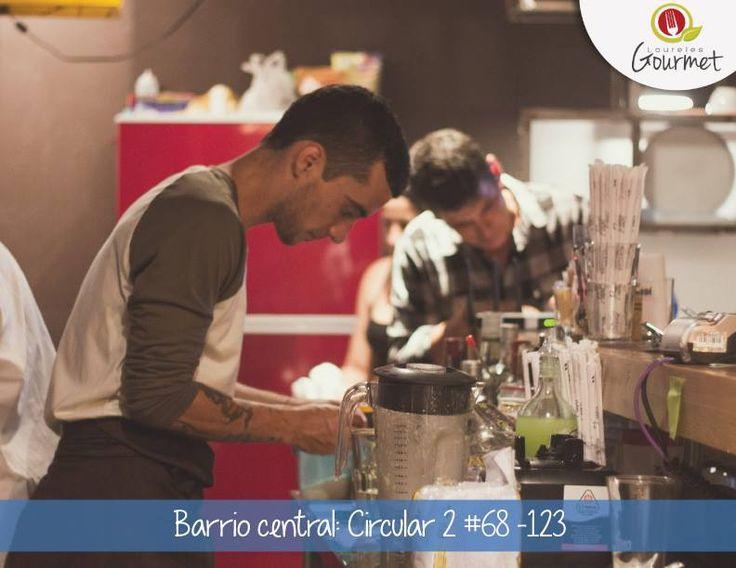 Laureles Gourmet promoting our barman Junagui #BarrioCentralCafeBar #La70 #Laureles #SanJoaquin #BarLocal #BebeLocal