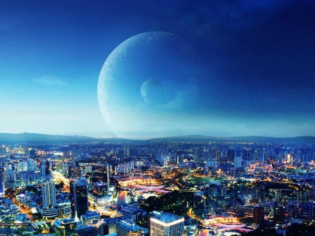 City Night Planet Wallpaper Hd City 4k Wallpapers Images Photos And Background Wallpapers Den Fantasy City City Lights Wallpaper City Wallpaper 4k wallpaper of night city