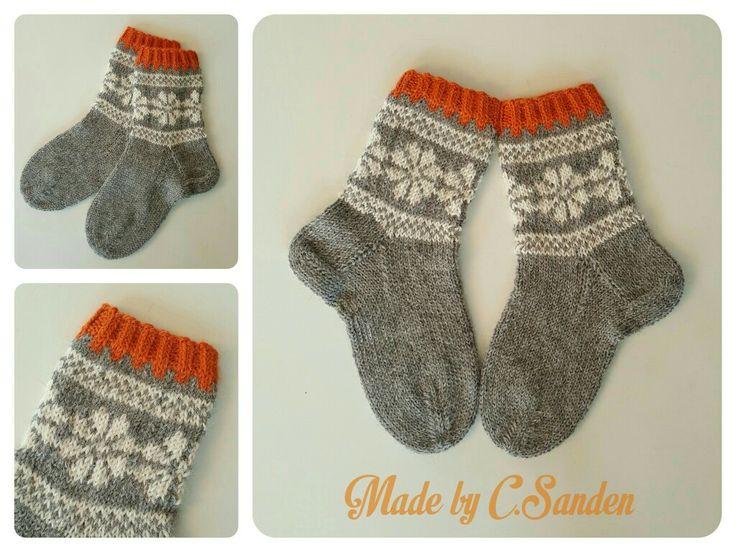 Knitted socks - april 2016