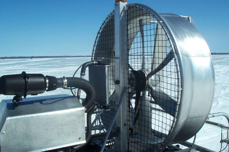Ducted belt-driven aluminum fixed-pitch propeller