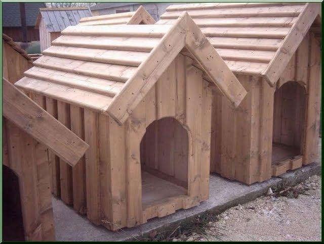 Hundehütte - Akazien Holz Ildare