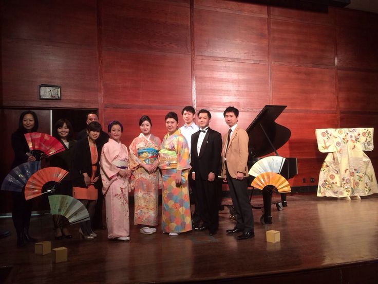 A shot after Japanese concert at Hunter college.