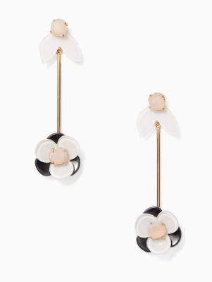pick a posy linear statement earrings | Kate Spade New York