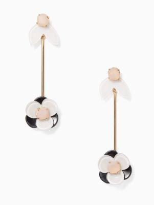 pick a posy linear statement earrings | Kate Spade New York