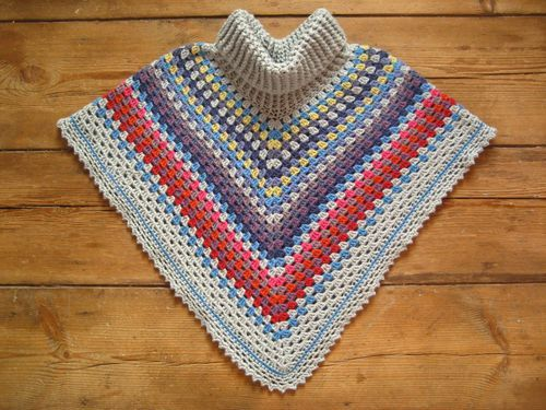 Free Crochet Patterns For Cowl Neck Poncho : 64 best images about Crochet - Poncho on Pinterest ...