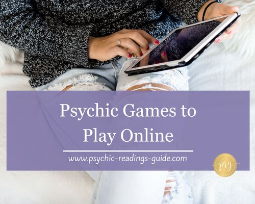 Here are four super fun and free psychic games that you can play online. Get your bunny slippers, grab a latte, and enjoy!