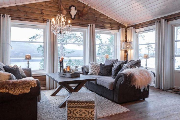 (1) FINN – Leiro hyttegrend - stor ekslusiv hytte bygges på nytt hyttefelt i Sysendalen. Hytten ferdigstilles i begynnelsen av 2018.