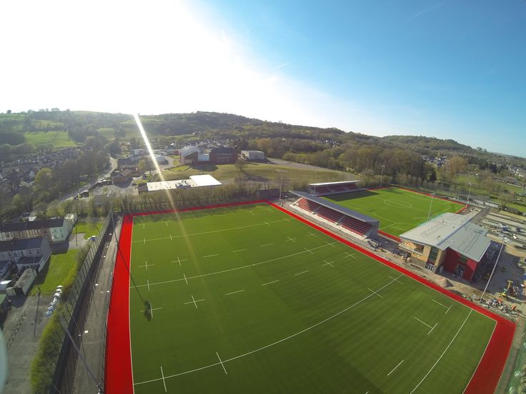 Elite South Wales Centre of Sporting Excellence Receives Praise, features Act Global rugby and football #artificialturf pitches.
