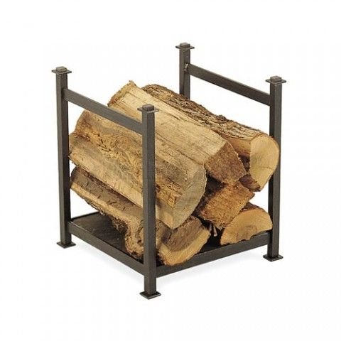 http://www.northlineexpress.com/pilgrim-craftsman-wood-holder-vintage-iron-18529-4485.html Pilgrim's Craftsman Wood Holder keeps an armload of firewood handy on your hearth in impressive style. It's sturdy iron frame supports a natural slate base for quite a unique and different touch to firewood racks.