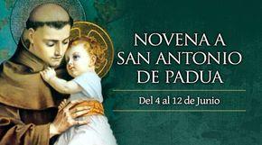 """4 de junio: Inicia la novena a San Antonio de Padua, """"el santo de todo el mundo"""""""