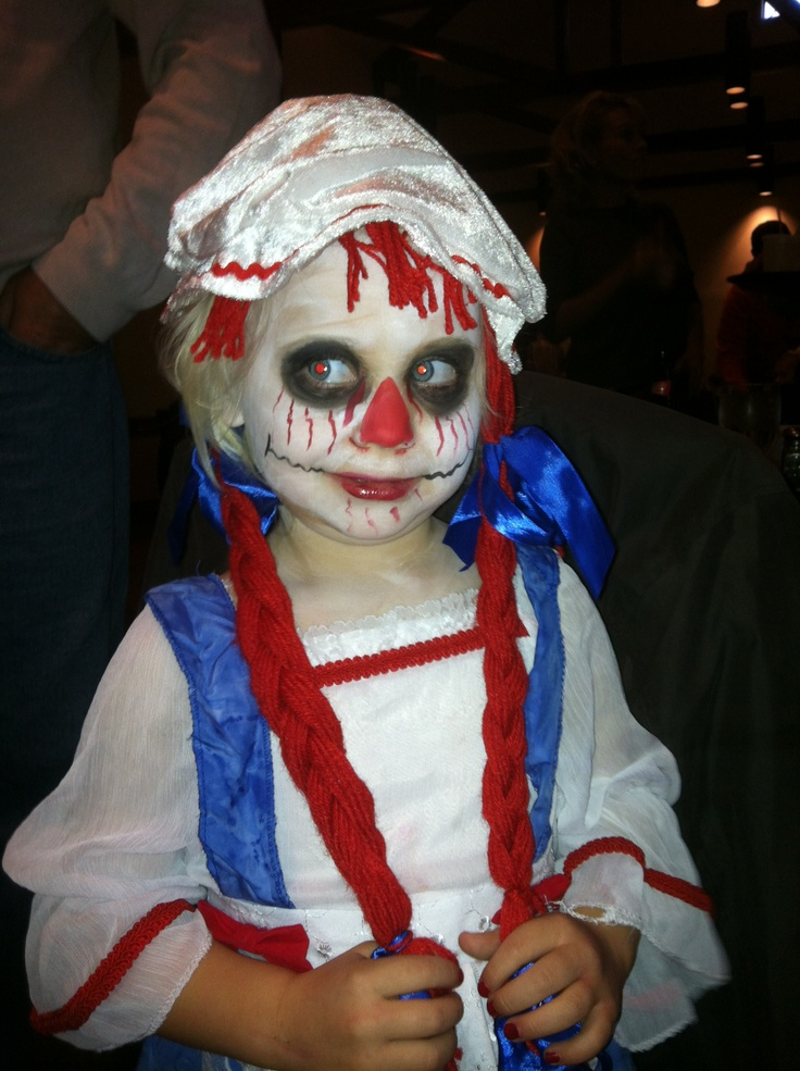 Scary Raggedy Ann | My family loves Halloween ...