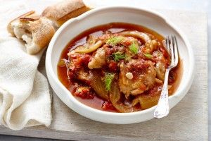 Slow-cooker spicy Italian chicken and fennel stew