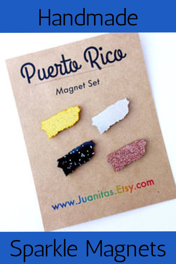 Puerto Rico Map World%0A Puerto Rico Map Magnets  Sparkle Magnets   Perfect Stocking Stuffer    Boricua Gift  ad