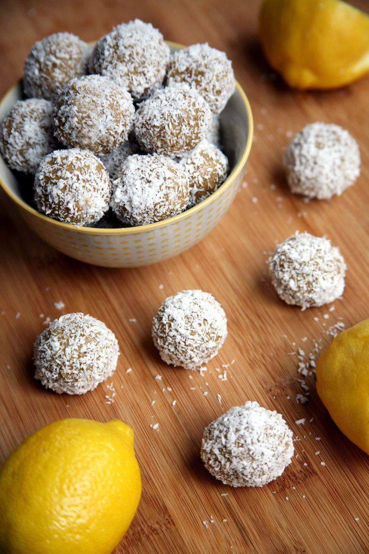 Lemon Coconut Protein Balls | POPSUGAR Fitness