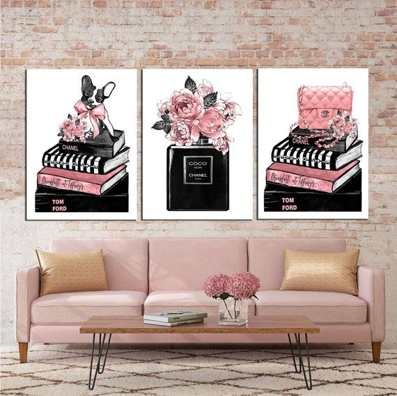 Fashion Wall Art Canvas Wall Art Fashion Prints Fashion Illustration Fashion Canvas Fashion Art Fashion Poste Fashion Wall Art Fashion Art Fashion Poster