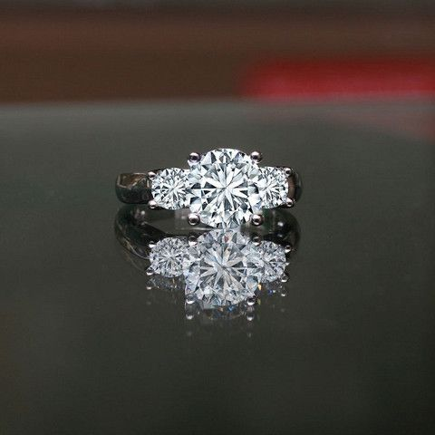 51 best Simulated Diamond Wedding Rings images on Pinterest