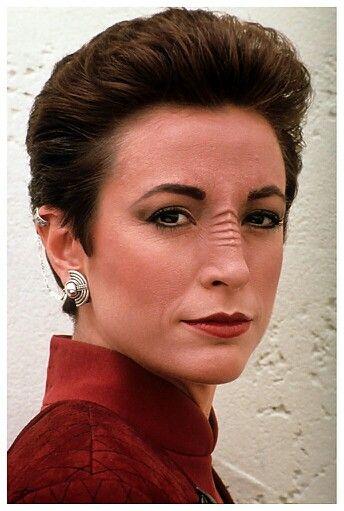 The women of Star Trek TV series: Nana Visitor as Kira from Deep Space Nine.