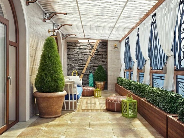 17 meilleures id es propos de design terrasse couverte for Decoration terrasse appartement