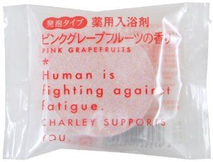 "happonyuuyokuzai pinkgure-pufuru-tsu by CHA-RI-. $7.50. Japanese retail packaging ( Manual and instruction, if any, are in Japanese only. ). Size (exterior): 69 * Vertical side 87 (mm). Net weight: 40g. ""happonyuuyokuzai pinkgure-pufuru-tsu"" is a medicated bath fizz tablet. When you put it in the bathtub to create foam, generate artificial carbonate spring? The product is a fine-textured foam type, with no fragrance, colour or Paraben. It is a non-medicinal product with mild acidity."