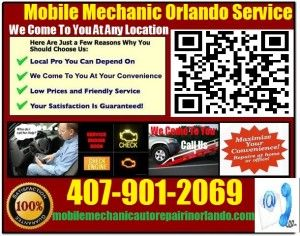 Mobile Mechanic Melbourne FL auto car repair service shop review that comes to you call 407-901-2069 or visit us at http://mobilemechanicautorepairinorlando.com/car-service-melbourne-florida-shop-on-wheels/