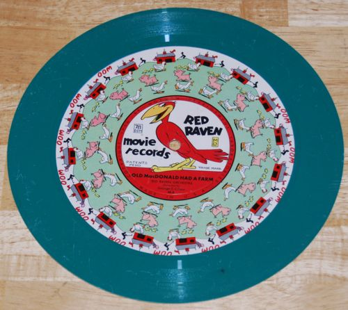 Red raven record x