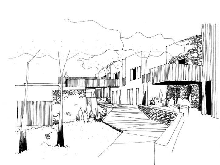 résidence hôtelière CARCASSONNE PARTICULIER - architectes de campagne - perris.perris architectes