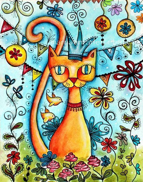 Arte impresión impresión del arte mexicano por maryannfarley