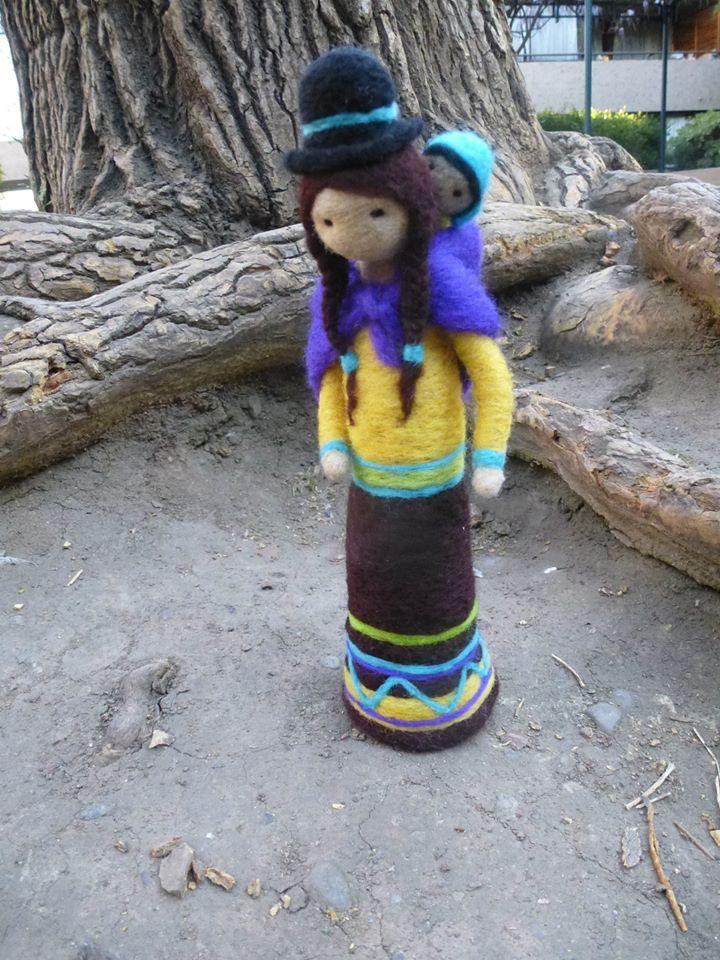 Mujer del altiplano