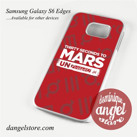 30 seconds to mars unplugged Phone Case for Samsung Galaxy S3/S4/S5/S6/S6 Edge