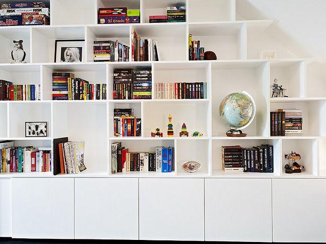 Book shelf of my dreams.