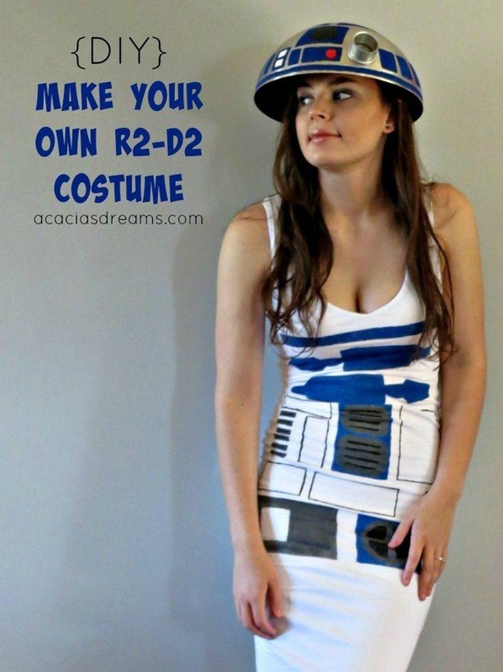 Make Your Own R2-D2 Costume   acaciasdreams.com