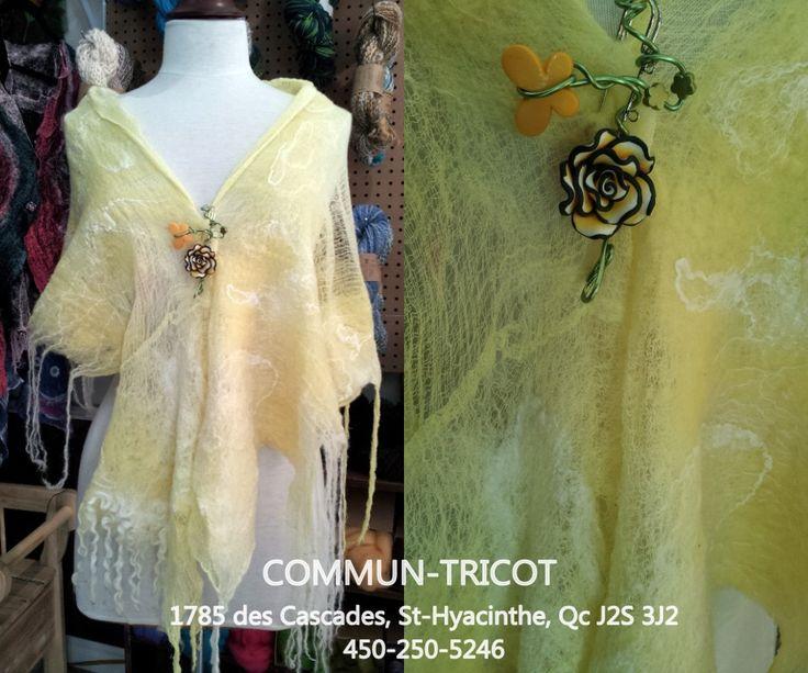 lane, coton et soie wool, cotton and silk