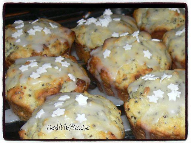 nedivimse.cz: Limetkové chia muffiny