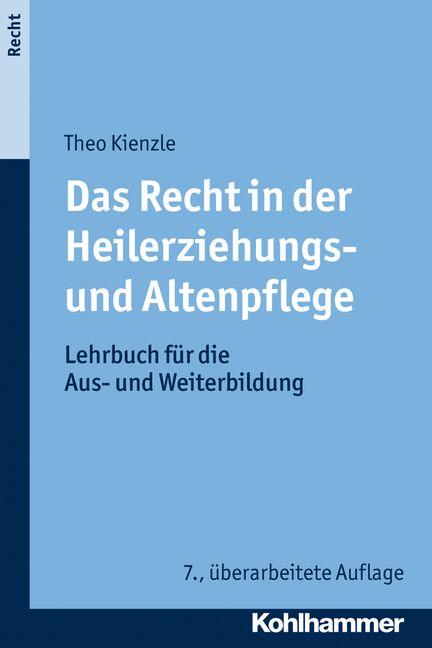 Das Recht in der Heilerziehungs- und Altenpflege  Das Lehrbuch für die Aus- und Weiterbildung gibt auch in seiner 7. Auflage eine sachliche und fundierte Übersicht über alle wesentlichen Grundlagen für die tägliche Betreuung in der Altenpflege, Behindertenhilfe und Psychiatrie.